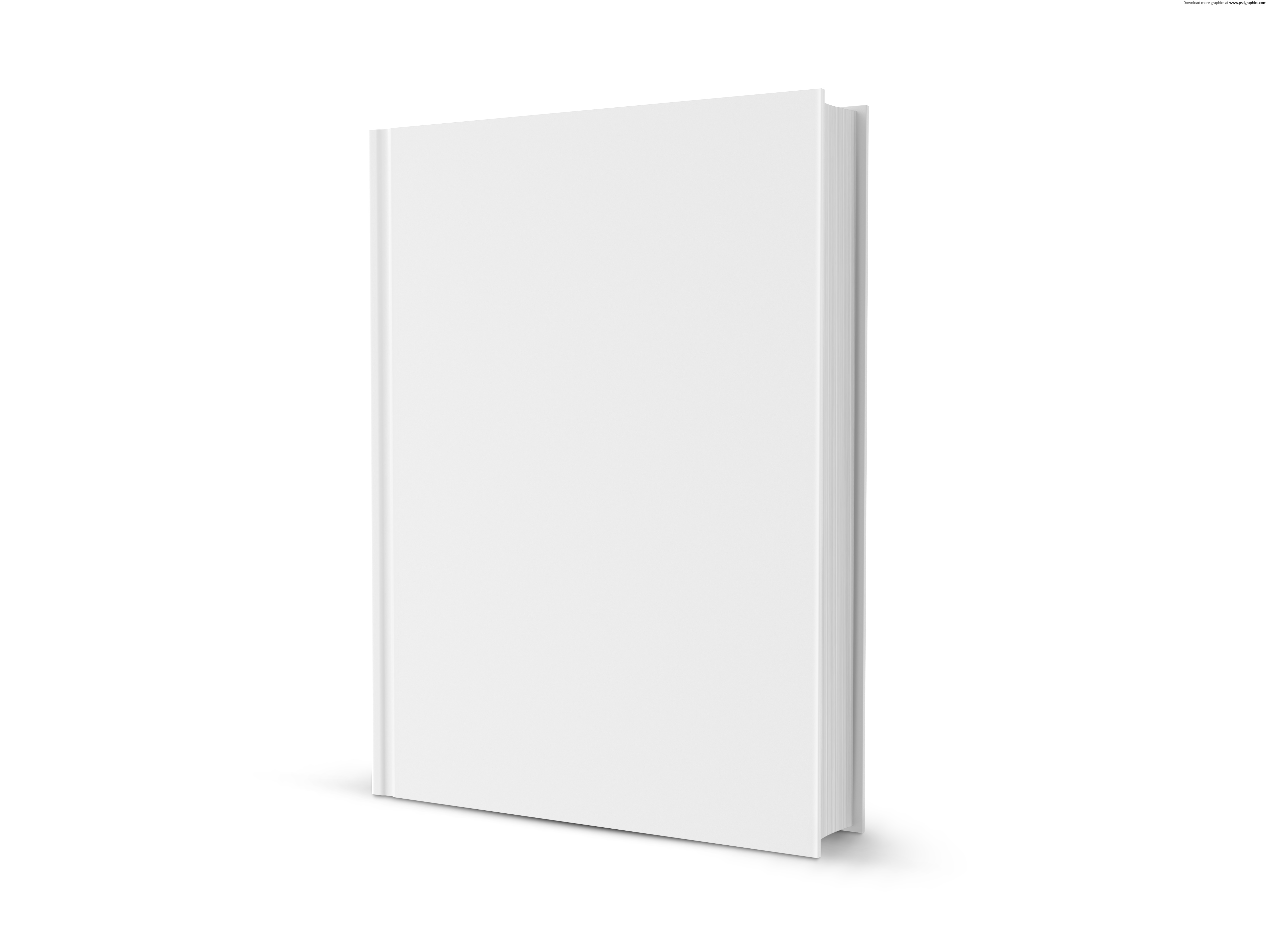 Book cover blank template
